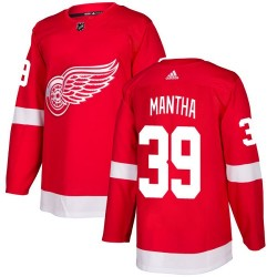 Anthony Mantha Detroit Red Wings Youth Adidas Authentic Red Home Jersey