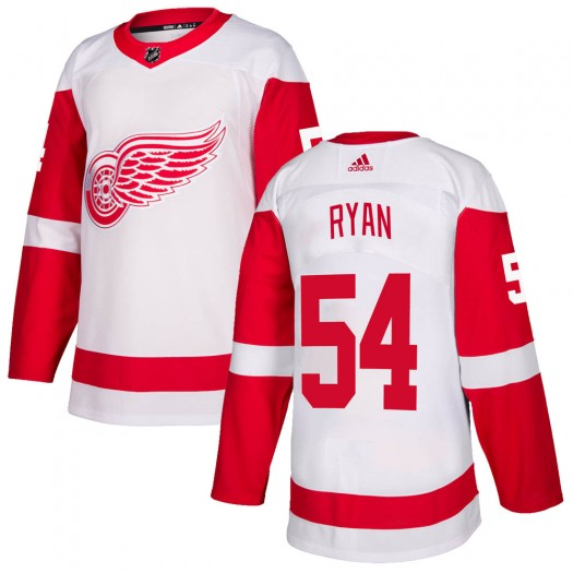 Bobby Ryan Detroit Red Wings Men's Adidas Authentic White Jersey