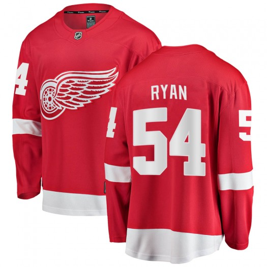Bobby Ryan Detroit Red Wings Youth Fanatics Branded Red Breakaway Home Jersey