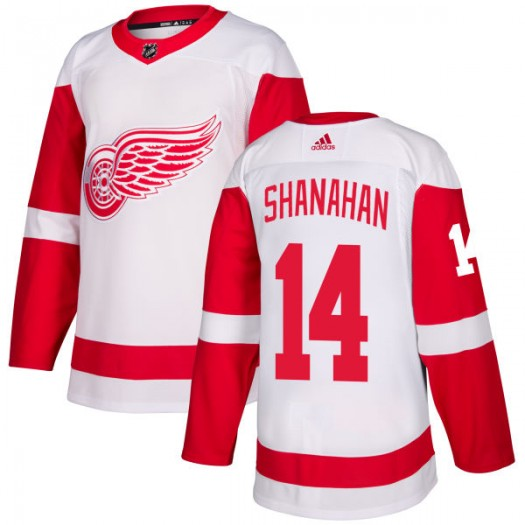 Brendan Shanahan Detroit Red Wings Men's Adidas Authentic White Jersey