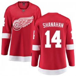 Brendan Shanahan Detroit Red Wings Women's Fanatics Branded Red Home Breakaway Jersey