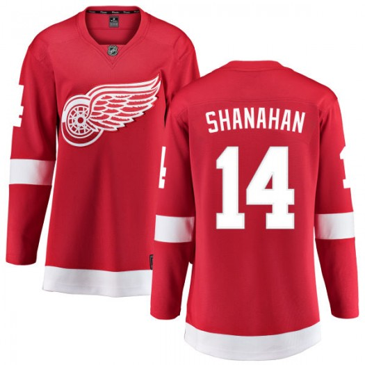 Brendan Shanahan Detroit Red Wings Women's Fanatics Branded Red Home Breakaway Jersey