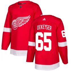 Danny DeKeyser Detroit Red Wings Men's Adidas Authentic Red Jersey