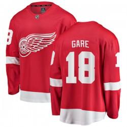 Danny Gare Detroit Red Wings Men's Fanatics Branded Red Breakaway Home Jersey
