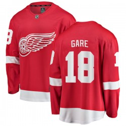 Danny Gare Detroit Red Wings Youth Fanatics Branded Red Breakaway Home Jersey