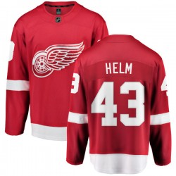 Darren Helm Detroit Red Wings Youth Fanatics Branded Red Home Breakaway Jersey