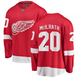 Dylan McIlrath Detroit Red Wings Men's Fanatics Branded Red Breakaway Home Jersey