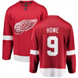 Gordie Howe Detroit Red Wings Youth Fanatics Branded Red Home Breakaway Jersey