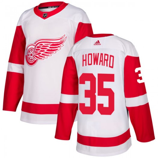 Jimmy Howard Detroit Red Wings Men's Adidas Authentic White Jersey