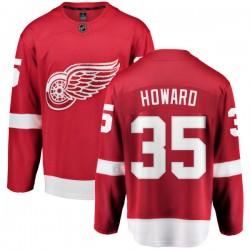 Jimmy Howard Detroit Red Wings Men's Fanatics Branded Red Home Breakaway Jersey