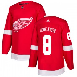 Justin Abdelkader Detroit Red Wings Men's Adidas Authentic Red Jersey