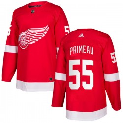 Keith Primeau Detroit Red Wings Men's Adidas Authentic Red Home Jersey