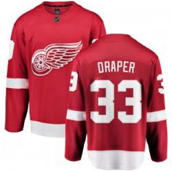 Kris Draper Detroit Red Wings Men's Fanatics Branded Red Home Breakaway Jersey