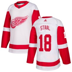 Marc Staal Detroit Red Wings Men's Adidas Authentic White Jersey