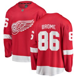 Mathias Brome Detroit Red Wings Youth Fanatics Branded Red Breakaway Home Jersey