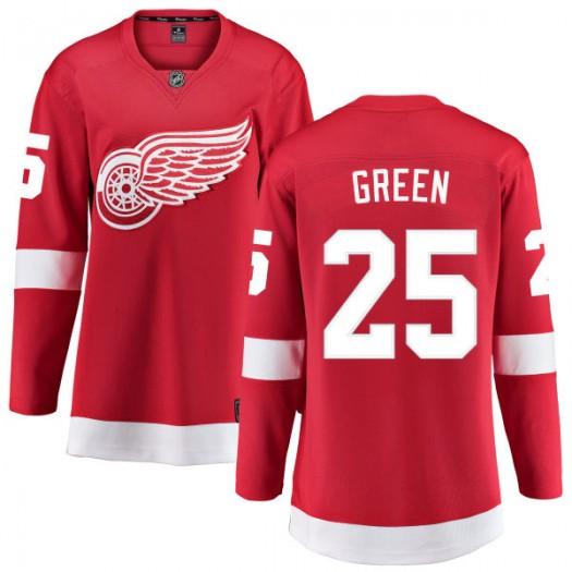 Mike Green Detroit Red Wings Women's Fanatics Branded Green Red Home Breakaway Jersey