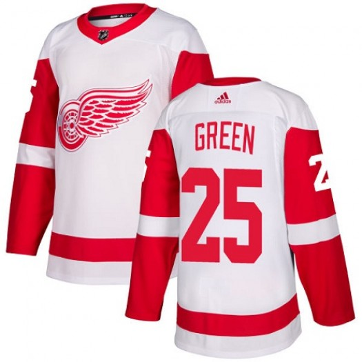 Mike Green Detroit Red Wings Youth Adidas Authentic White Away Jersey