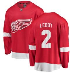 Nick Leddy Detroit Red Wings Men's Fanatics Branded Red Breakaway Home Jersey