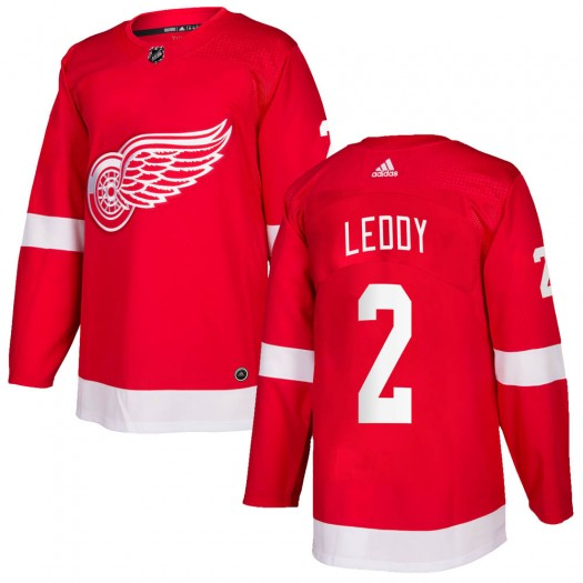 Nick Leddy Detroit Red Wings Youth Adidas Authentic Red Home Jersey