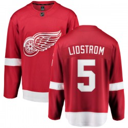 Nicklas Lidstrom Detroit Red Wings Youth Fanatics Branded Red Home Breakaway Jersey