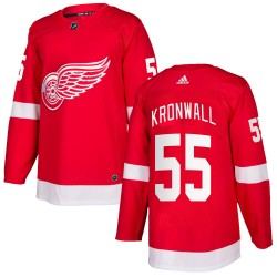 Niklas Kronwall Detroit Red Wings Men's Adidas Authentic Red Home Jersey