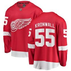 Niklas Kronwall Detroit Red Wings Men's Fanatics Branded Red Breakaway Home Jersey