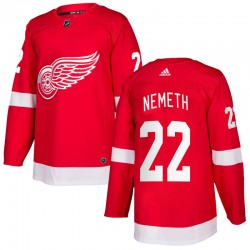 Patrik Nemeth Detroit Red Wings Men's Adidas Authentic Red Home Jersey