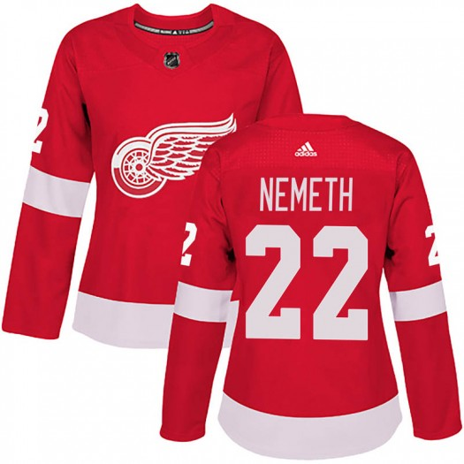 Patrik Nemeth Detroit Red Wings Women's Adidas Authentic Red Home Jersey