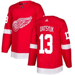Pavel Datsyuk Detroit Red Wings Youth Adidas Authentic Red Home Jersey