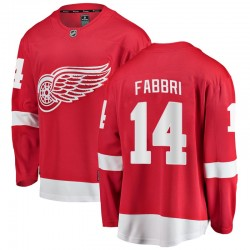 Robby Fabbri Detroit Red Wings Men's Fanatics Branded Red Breakaway Home Jersey