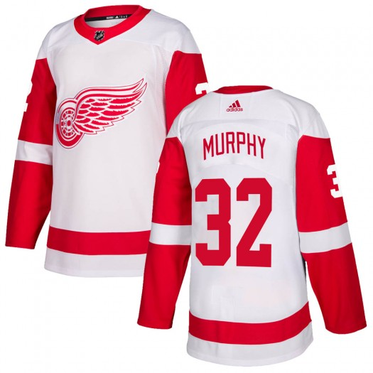 Ryan Murphy Detroit Red Wings Youth Adidas Authentic White Jersey