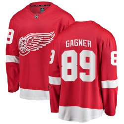 Sam Gagner Detroit Red Wings Men's Fanatics Branded Red ized Breakaway Home Jersey