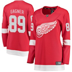 Sam Gagner Detroit Red Wings Women's Fanatics Branded Red ized Breakaway Home Jersey