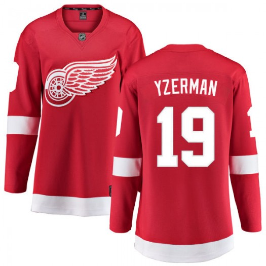 Steve Yzerman Detroit Red Wings Women's Fanatics Branded Red Home Breakaway Jersey