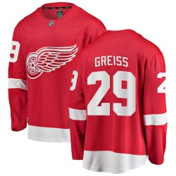Thomas Greiss Detroit Red Wings Youth Fanatics Branded Red Breakaway Home Jersey