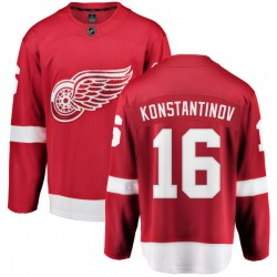 Vladimir Konstantinov Detroit Red Wings Youth Fanatics Branded Red Home Breakaway Jersey