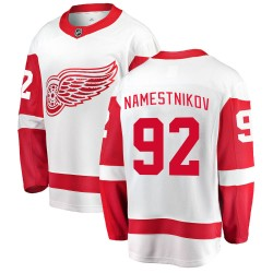 Vladislav Namestnikov Detroit Red Wings Men's Fanatics Branded White Breakaway Away Jersey