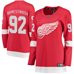 Vladislav Namestnikov Detroit Red Wings Women's Fanatics Branded Red Breakaway Home Jersey