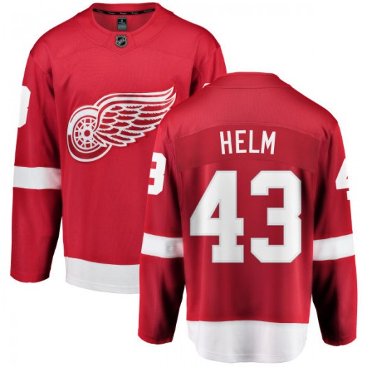 Darren Helm Detroit Red Wings Men's Fanatics Branded Red Home Breakaway Jersey