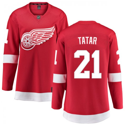 Tomas Tatar Detroit Red Wings Women's Fanatics Branded Red Home Breakaway Jersey