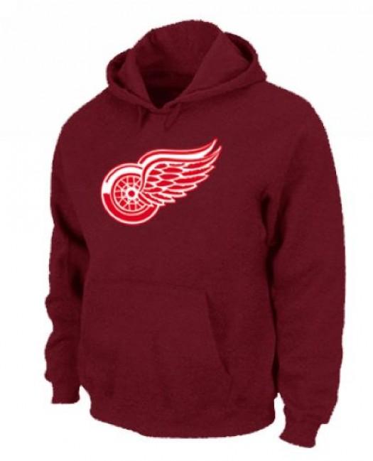 Detroit Red Wings Men's Red Pullover Hoodie