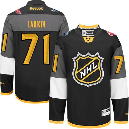 Dylan Larkin Detroit Red Wings Men's Reebok Authentic Black 2016 All Star Jersey