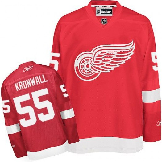 Niklas Kronwall Detroit Red Wings Men's Reebok Authentic ...