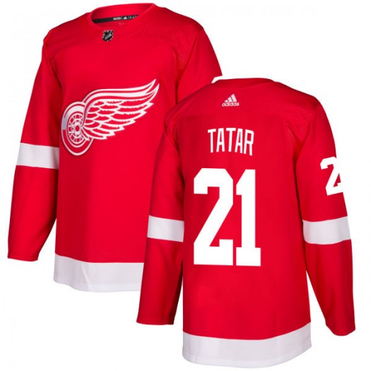 Tomas Tatar Detroit Red Wings Men's Adidas Authentic Red Jersey