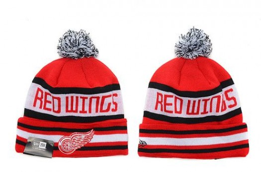 Detroit Red Wings Men's Stitched Knit Beanies Hats 013