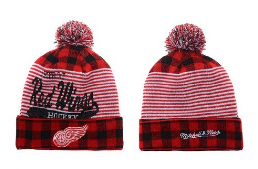Detroit Red Wings Men's Stitched Knit Beanies Hats 014