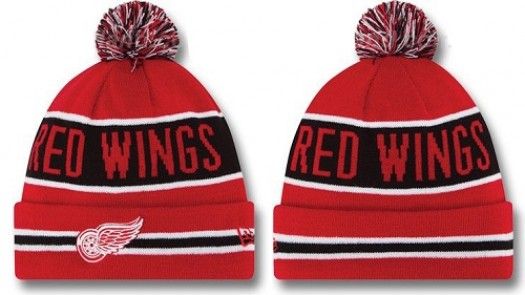 Detroit Red Wings Men's Stitched Knit Beanies Hats 015