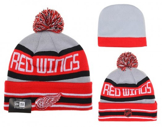 Detroit Red Wings Men's Stitched Knit Beanies Hats 016