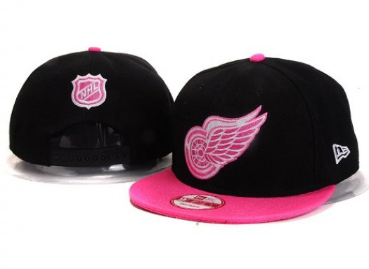 Detroit Red Wings Men's Stitched Snapback Hats 002