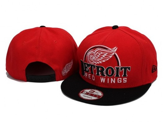 Detroit Red Wings Men's Stitched Snapback Hats 004